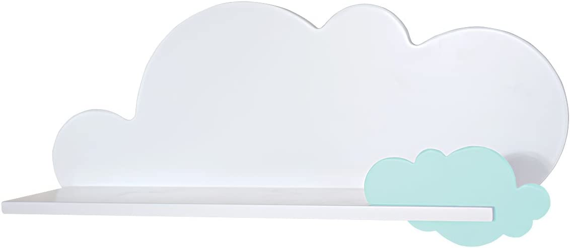 Bainba Estanter/ía Infantil Nube Nube, Azul