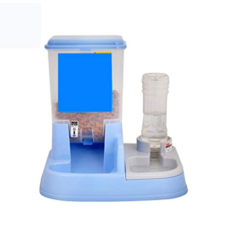 Doble puerto para mascotas, alimentador automático, dispensador de agua semiautomático, fuente de alimentación