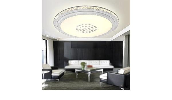 LighSCH Luces de techo El salón acogedor dormitorio de cristal LED 100cm 192W regulable lámpara minimalista moderno: Amazon.es: Iluminación