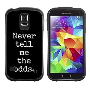 Paccase / Suave TPU GEL Caso Carcasa de Protección Funda para - gamer gambling poker blackjack black - Samsung Galaxy S5 SM-G900