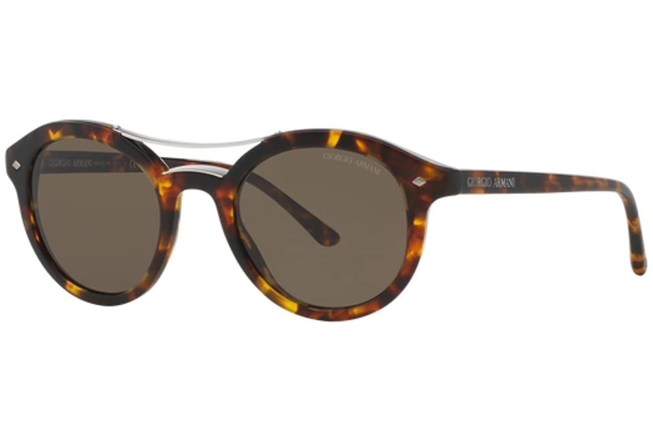 ab279f6a7beb Amazon.com  Giorgio Armani AR8007 501153 Matte Havana AR8007 Round  Sunglasses Lens Category  Giorgio Armani  Clothing