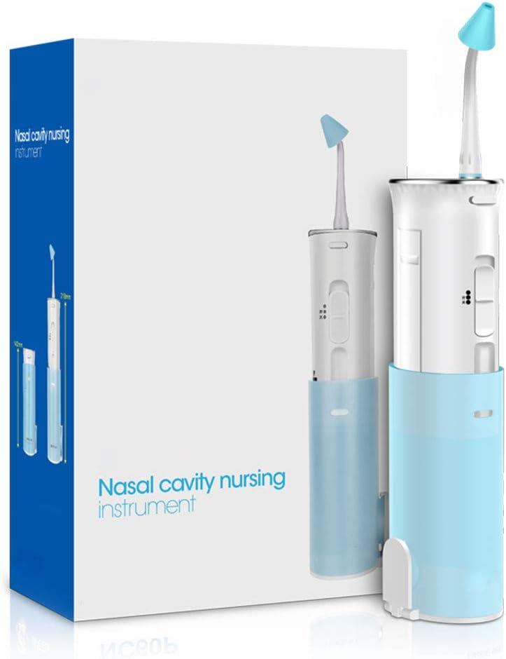DONGBALA Aspirador Nasal, 2 en 1 Limpiador Dental Lavado Nasal eléctrico Tratamiento de la rinitis alérgica Hogar Medico Puede ser Utilizado para Adultos Niños Mujeres Embarazadas (220Ml): Amazon.es: Hogar