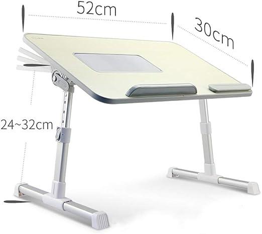 DS-mesa de ordenador Mesa de la cama - Cama plegable Mesa de la ...