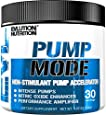 Evlution Nutrition Pump Mode (30 Serving,Unflavored Powder) Nitric Oxide Booster To Support Intense Pumps, Performance and Vascularity
