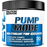 Evlution Nutrition Pump Mode (30 Serving, Unflavored Powder) Nitric Oxide Booster To Support Intense Pumps, Performance and Vascularity