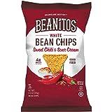 #7: Beanitos Sweet Chili & Sour Cream White Bean Chips, Plant Based Protein, Good Source Fiber, Gluten Free, Non-GMO, Corn Free Tortilla Chip Snack, 5.5 Ounce