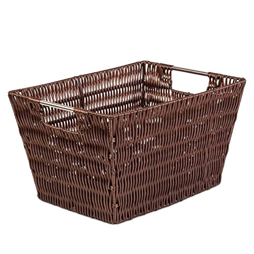 Woven Large Storage Baskets - Shelf