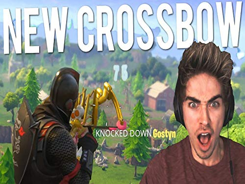 Clip: Fortnite New Crossbow longest shot record