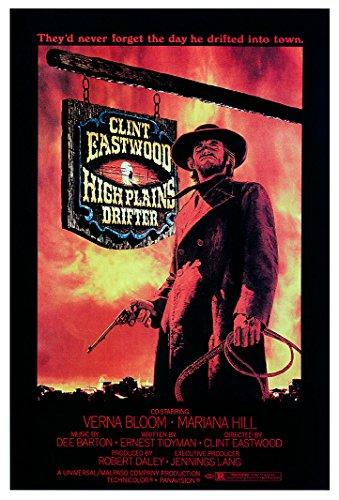"""High Plains Drifter - (24"""" X 36"""") Movie Poster"""