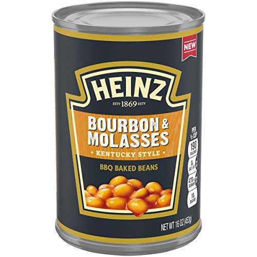 Heinz Kentucky Style Bourbon & Molasses BBQ Baked Beans, 16 oz Can (Best Barbecue Baked Beans)