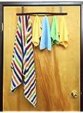 SL Decor Over the Door Hook / Hanger , Towel Rack, Hat Rack, Clothing Storage. 6 hooks.