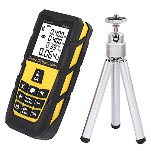 DMiotech¨ 131ft 40m Mini Handheld Laser Distance Meter Measure Tape Diastimeter