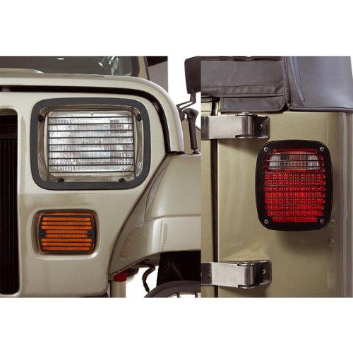 95 Jeep Wrangler Stone Guard (STONE GUARD BILLET SET 7626 87-95)