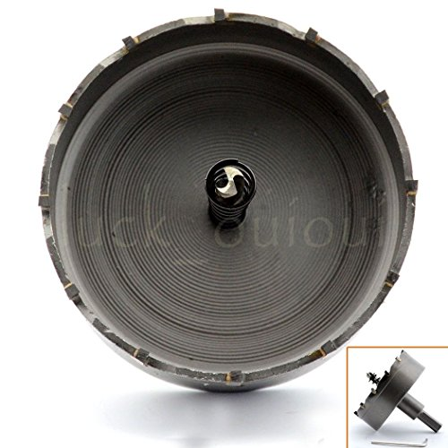 80mm Steel Metal Hole Saw Tooth Carbide Tip TCT Drill Bit Fiberglass (80 Mm Tip)