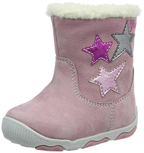 Geox Baby Mädchen B New Balu' Girl C Lauflernschuhe, Pink (Pink/MULTICOLOURC8206), 21 EU