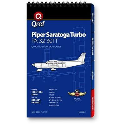 Piper Saratoga Turbo Qref Checklist Book