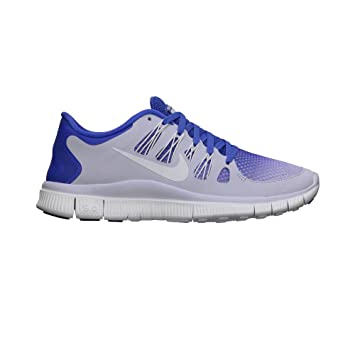 Nike Free 5.0+ Breathe Ladies Running Shoe, GreyBlue, Uk6