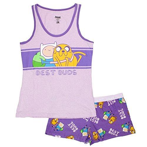 Adventure Time Cartoon Network Womens Pajama Set