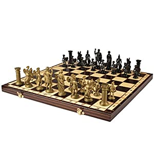 """Spartan"" European International Chess Set - 19.7"""