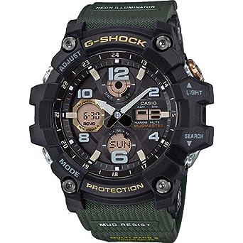 Casio Reloj Analógico-Digital para Hombre de Cuarzo con Correa en Resina GWG-100-1A3ER: Amazon.es: Relojes