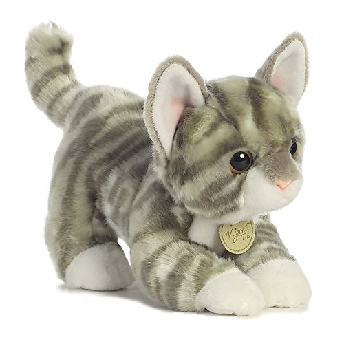 Aurora World Miyoni Tots Grey Tabby Kitten Plush for sale  Delivered anywhere in USA