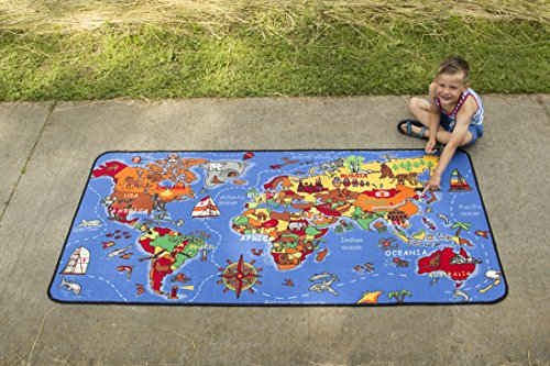 Learning Carpets Where in The World LC 177