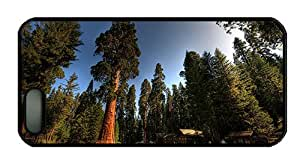 Hipster crazy iphone 5 cases A village in forest houses trees PC Black for Apple iPhone 5/5S