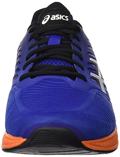 Asics FuzeX - Zapatillas de running Multicolor (Asics Blue / Indigo Blue / Hot Orange)