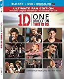 One Direction: This is Us [Blu-ray + DVD + UltraViolet] (Sous-titres français)