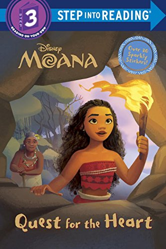 Quest for the Heart (Disney Moana) (Step into Reading) - Books For 2nd Grade Readers