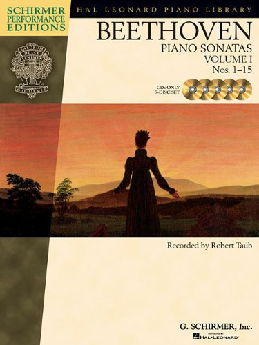 Read Online Beethoven - Piano Sonatas, Volume I - CDs Only (set of 5): Nos. 1-15 (Hal Leonard Piano Library) pdf