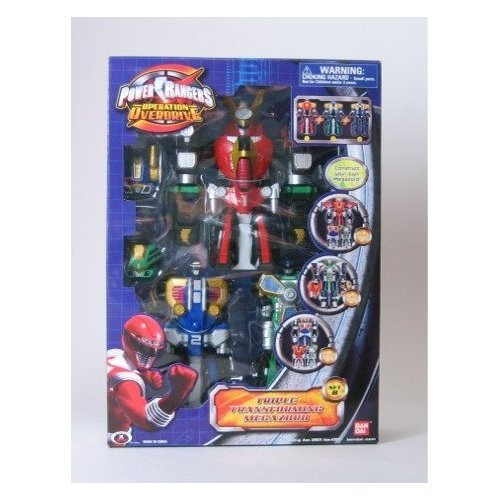 Power Rangers Operation Overdrive Triple Transforming Megazord - Set - Set Megazord
