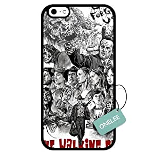 Onelee(TM) - Customized The Walking Dead TPU Case Cover for Apple iPhone 6 - Black 02