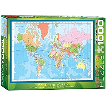 Amazon Com The Global Puzzle 600 Piece Toys Amp Games