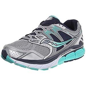 Saucony Women's Redeemer ISO Running Shoe, Silver/Grey, 7.5 W US