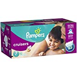 Pampers Cruisers Diapers Size 7 92 Count (old version...