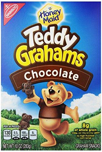 Price comparison product image Teddy Grahams,  Chocolate,  10 oz