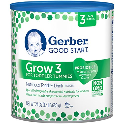 Gerber Good Start Grow Toddler Drink Powder Stage 3, 24 Ounce
