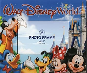 walt disney world magic kingdom mickey friends 4x6 frame - Disney Frame