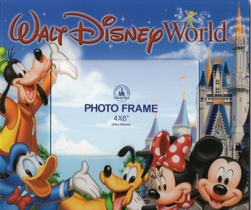 Walt Disney World Magic Kingdom Mickey & Friends 4x6 - World Frames Disney