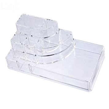 Amazon.com: Caja de almacenamiento de maquillaje estuche ...
