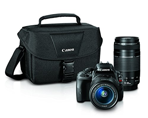 Canon EOS Rebel SL1 Digital SLR Lens Bundle (Black)