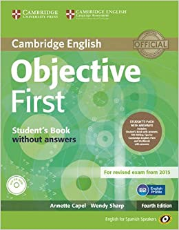 Objective First for Spanish Speakers Students Pack with Answers ...