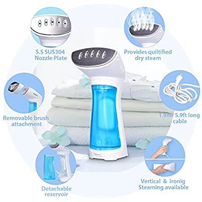 Travel Clothes Steamer for Garment