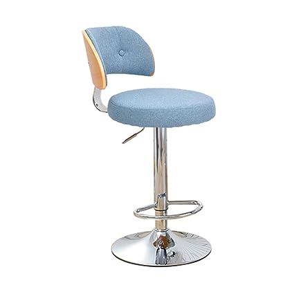 Bar Furniture Bar Chairs Inventive Solid Wood Bar Chair High Stool Swivel Bar Chair Stylish Simple Windsor Chair Home Lift Chair.