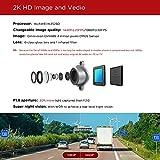 DDPai Mini2 WQHD 2K 1440P Wi-Fi Dash Cam with