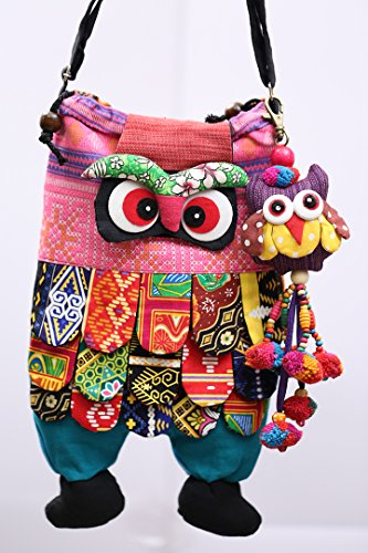 [Gift Cross Body Shoulder Travel New Year Surprise Owl Bags For Son and Daughter] (Halloween 2016 Costume Ideas Women)
