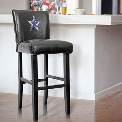 Cowboys bar stool dallas cowboys bar stool cowboys bar stools support your favorite nfl team with this pair of officially licensed 30 inch high upholstered dallas watchthetrailerfo