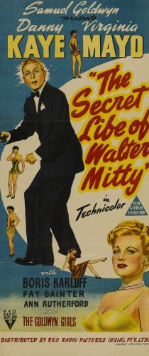 Movie Posters The Secret Life of Walter Mitty - 27 x 40