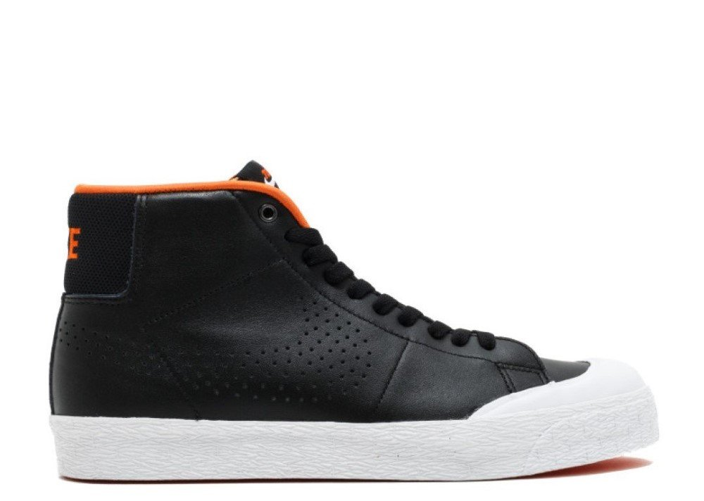 Nike Men's SB Blazer Zoom Mid XT, Black/Metallic Silver-White (9.5)